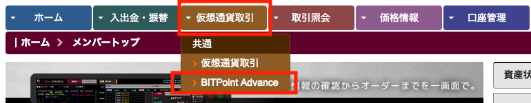 BITPoint ADVANCE